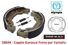 58044 - Coppia Ganasce Freno OLYMPIA per APRILIA Scarabeo 100 2T dal 2000 - 2001