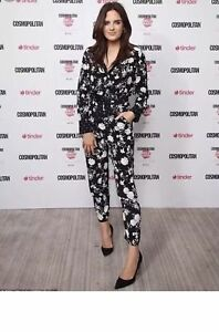 Woman Jumpsuit Zara Floral Size Small