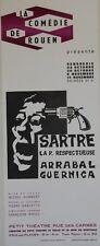 LA P. RESPECTUEUSE (Jean-Paul SARTRE) Affiche originale entoilée Pierre GARCETTE