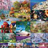 Puzzle Adult 1000 Piece Cardboard Jigsaw Decompression Game Toy Gifts Difficulty