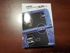 Nintendo New 3DS LL XL console metallic blue boxed Japan system US seller