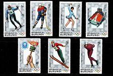 Burundi (1968 )  - Scott # 226 - 232,  MNH