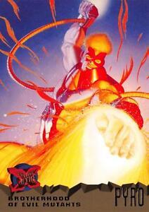 PYRO / X-Men Fleer Ultra 1995 BASE Trading Card #60