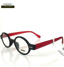 (3 PAIRS ) MIASTO CIAO ROUND OAVL READER READING GLASSES +3.00 BLACK WHITE BROWN