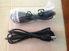 USB 2.0 Cable A Male to B Male 6 Ft. printer cable  for USB printer Black. HP