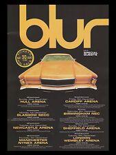 "BLUR UK Concert Tour 16"" x 12"" Photo Repro Promo  Poster"