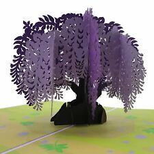 Wisteria Tree 3d Pop Up Card