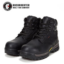ROCKROOSTER Men's Work Boots Composite Toe Anti Puncture Waterproof Safety Boots