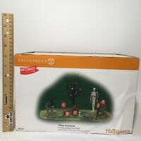 Dept 56 Halloween CREEPY MAILBOXES SET OF 2 6001739 DEALER STOCK RETIRED BNIB