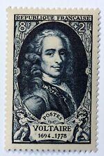 FRANCE CÉLÉBRITÉS TIMBRE NEUF N° 854 **  MNH VOLTAIRE  FRANCOIS MARIE AROUET B4
