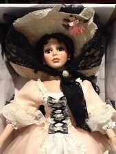 """Treasures Forever William Tung Porcelain Doll - Marcella - 28"""""""