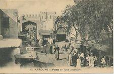 Postcard -  TUNISIE / KAIROUAN / PORTE DE TUNIS / INTERIEURE