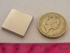 "4 of 3/4"" sq. x 1/8"" Strong Neodymium Magnets Block Rare Earth NIB neo square"