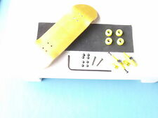 Gator wooden fingerboard compatible with all tech decks toy YellowYellowellow