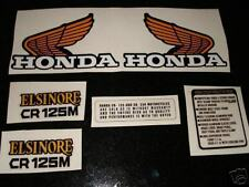 Elsinore CR125, CR125M, Complete Decal Set, NICE!