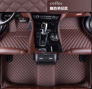 FOR LIncoln 1995-2021 Luxury Waterproof Front & Rear Liner Custom car mats
