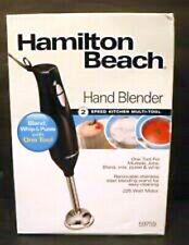 New Hamilton Beach Hand immersion Blender 2-Speed Multi-Tool Whisk Blend Mix