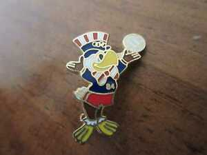 LOS ANGELES 1984 Pin Olympische Spiele Volleyball mascot Eagle OLYMPICS