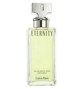 Eternity Calvin Klein Women 3.4 oz 100 ml Eau De Parfum New Tst Bottle