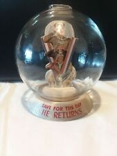 Vic Moran Bubble Bank Save for the Day He Comes Home 1940's Wwii