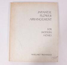 Vintage 1940 Japanese Flower Arrangement for Modern Homes Margaret Preininger