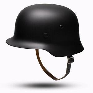 WWII German Elite M35 Helmet Stahlhelm Steel ET68 Combat Retro Replica Militaria