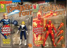 NEW Marvel Super Heroes Fantastic Four Lot Invisible Woman Human Torch  92 94