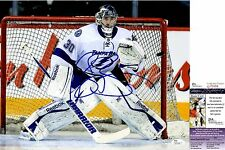 Ben Bishop Signed 11x14 Photo w/ JSA COA #Q70696 Tampa Bay Lightning