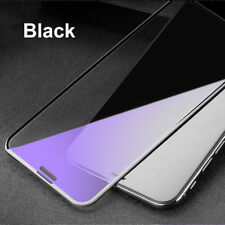 For iPhone X 6s 7 8 Plus Anti Blue Ray Tempered Glass Film 9D Full Cover Screen