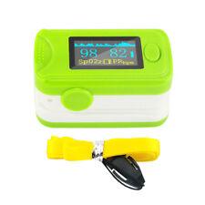 USA Fingertip Pulse Oximeter Audio Alarm Pulse Sound Spo2 Blood Oxygen Monitor