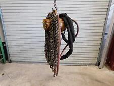 Ingersoll Rand ML500K 1/2 Ton 90' Pneumatic Air Chain Hoist w/ Pendant (G4-666B)