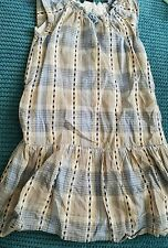 girl 4-5 years blue checked dress from GAP