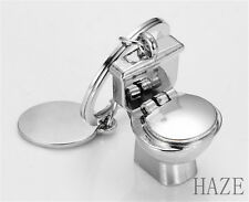 Key Ring Keyfob Keychains Gift Creative Toilet Lovely Keyrings Chain UK