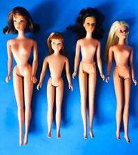 Vintage 1970s TNT Twist Barbie No Bangs Francie Malibu Rare Reissue Skipper Lot