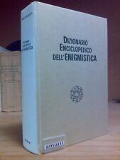 DIZIONARIO ENCICLOPEDICO DELL' ENIGMISTICA - 1970