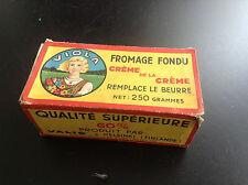 RARE ancienne boite Fromage fondu Viola Valio