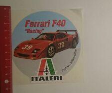 Aufkleber/Sticker: Italeri Ferrari F40 Racing (28111613)