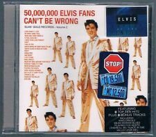 ELVIS PRESLEY 50,000,000 ELVIS FANS  CAN'T  BE WRONG CD F.C. NUOVO SIGILLATO!!!