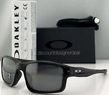 Oakley Chainlink Sunglasses OO9247-09 Black Frame Silver Iridium Polarized Lens