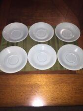 Lot 6 Vintage Rare set Franciscan Desert Rose Flying F small plates saucers 80's