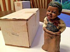 "New listing Martha Holcombe All God's Children Figurine ""Barney"",1992,# 6,Wbox,stamped"