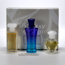 MARY KAY COFFRET SCENTS OF STYLE 3 Miniatures de Collection EDP 3 x 5 ml