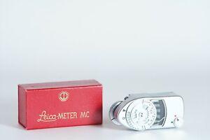 Leitz Leicameter MC Shoe Mount Exposure Meter for Leica M1, M2, M3 BOXED