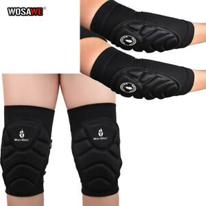 Knee & Elbow Pads Set MTB Bike Cycling Brace Protector Joint Support Skateboard