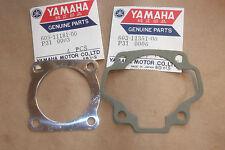YAMAHA P35  P 35  1960s  OUTBOARD  GENUINE HEAD & BASE GASKETS - FREE UK POSTAGE