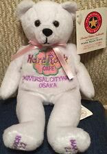 Hard Rock Cafe UC OSAKA 2002 1st Anniversary TEDDY BEARA BEAR Flower Logo LE1008