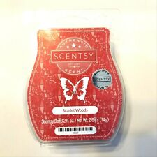 Scentsy Scarlet Woods Wax Bars (Lot of 3) Scent of the Month 3.2 Oz Each