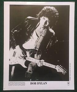 BOB DYLAN ~  Original US 1986 Columbia 8x10 Promotional Publicity Press Photo #2