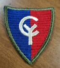 ORIGINAL US ARMY WWII 38th INFANTRY DIVISION PATCH               RIBBED WEAVE