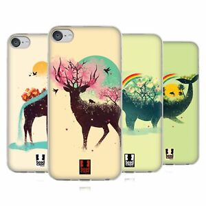 HEAD CASE DESIGNS LIFE IN NATURE SOFT GEL CASE FOR APPLE iPOD TOUCH MP3